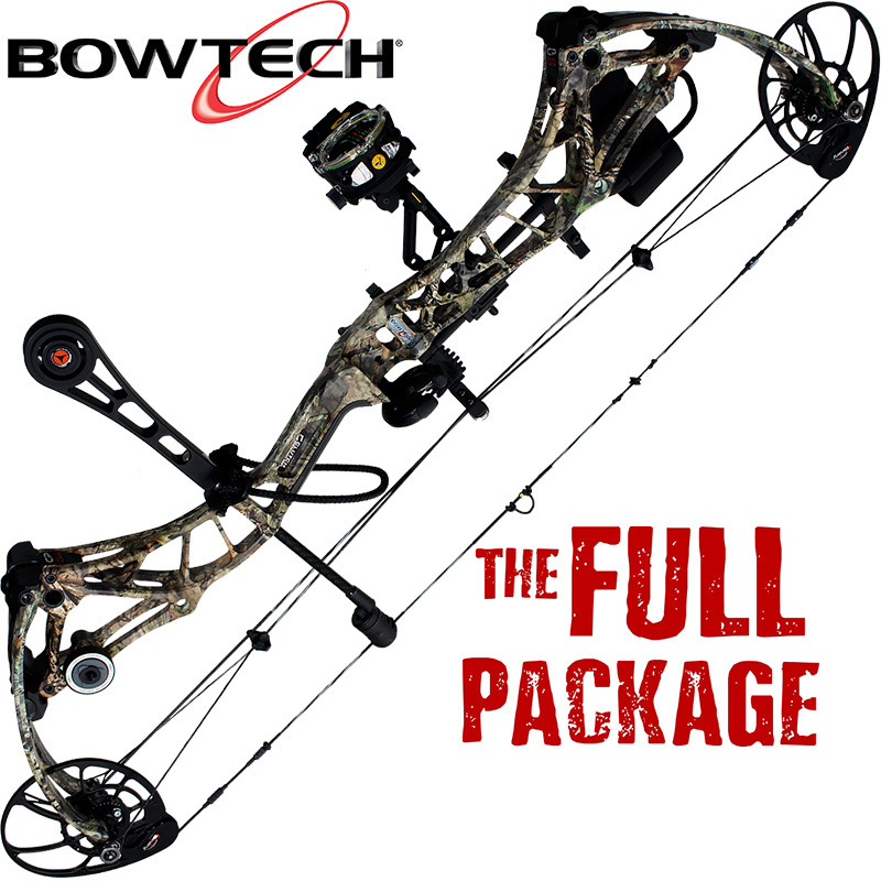 BOWTECH REALM-X READY TO HUNT BOW PACKAGE