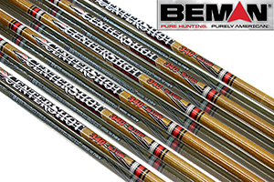 Beman Centershot Woodgrain Carbon Arrows