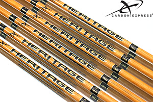 Carbon Express Heritage woodgrain Arrows