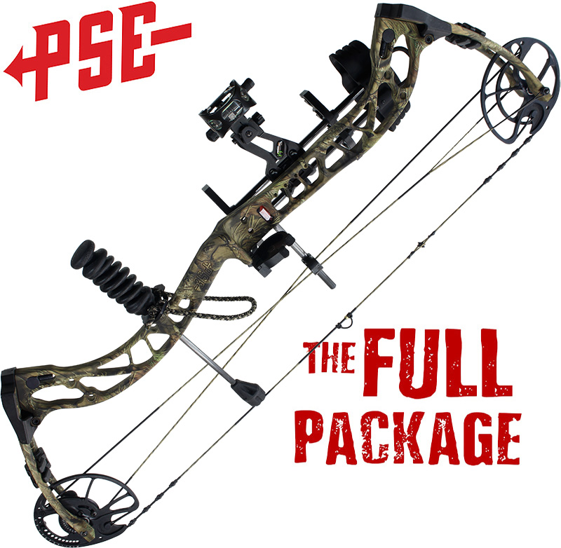 pse rampedcompound bow package