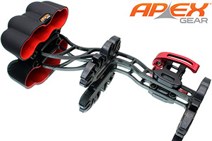 Apex Gamechanger 5-Arrow Quiver,Black