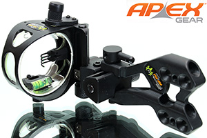 Apex Bone Collector 4-Pin Micro Adjust Sight