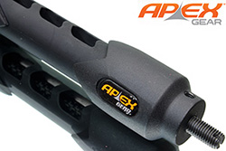 Apex Carbon Core 7 Stabilizer, Black