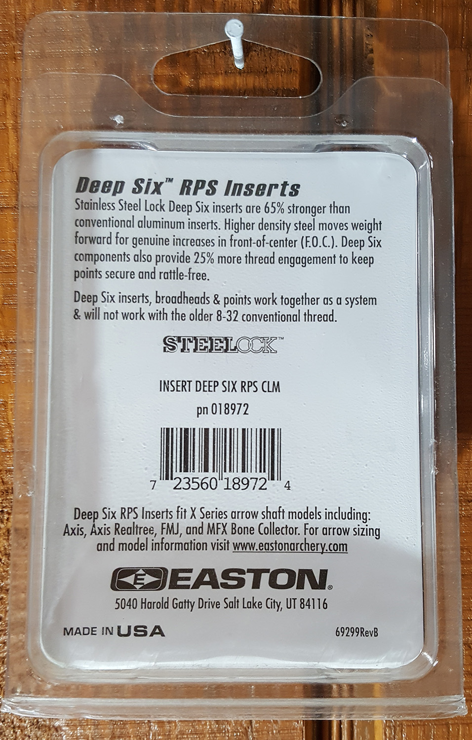 Easton deep six rps inserts 12pk only fits the deep six easton addthis sharing sidebar nvjuhfo Choice Image