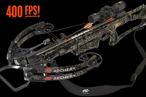 pse high power rdx crossbow at 400 fps