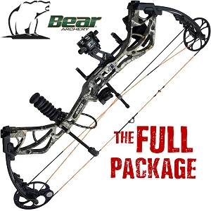 320 FPS! Bear Species, THE BIG PACKAGE, Full Pro-Shop Prepped Bowhunting Package Deal