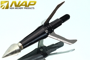 3-PK NAP Shockwave Expandable Hunting Broadheads 100 Grain