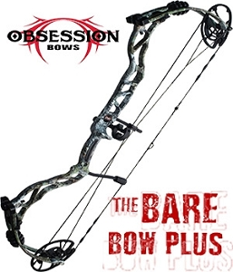 NEW! 348 FPS! 2019 Obsession HB33, in Mossy Oak Mountain Country Camo,  Build Your Own Bowhunting Package, You Pick the Components