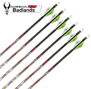 Carbon Express Maxima Badlands - Custom Finished Arrows!