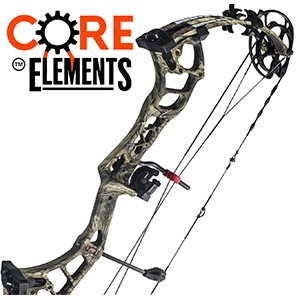 REDUCED! 2017 PSE Brute Force LT, Core Elements Compound Bow Package