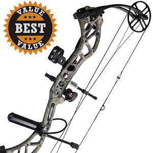 2017 Bear Wild, Bare Necessities Compound Bow Package,