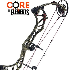 REDUCED! 2017 PSE Evolve, Core Elements Compound Bow Package