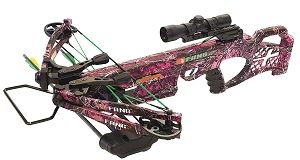 PSE Fang LT, Muddy Girl Camo, Crossbow Package