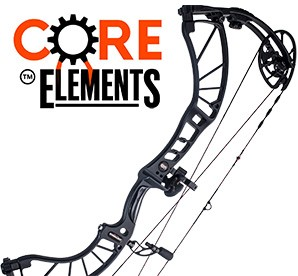 2017 Obsession Defcon M6Z, Core Elements Compound Bow Package
