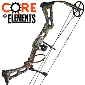 2017 Parker Revolution, Core Elements Compound Bow Package