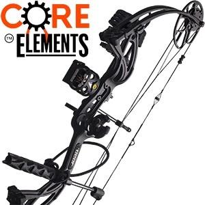2017 Bear Cruzer Shadow G2, Core Elements Compound Bow Package