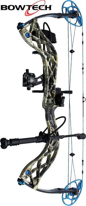 332 FPS! Bowtech Eva Shockey SS, THE BIG PACKAGE, Full Pro-Shop Prepped Bowhunting Package Deal