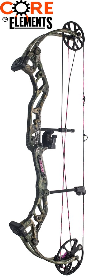 2017 Bear Prowess, Core Elements Compound Bow Package