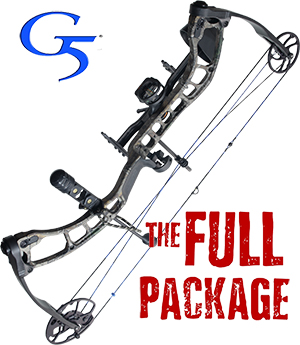 QUARANTINE SPECIAL OFFER! NEW! Quest Forge, THE BIG PACKAGE, Full Pro-Shop Prepped Bowhunting Package Deal