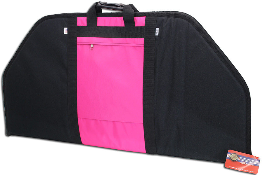 neet bc-708 pink compound bow soft case photo 1