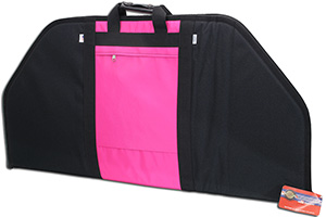 Neet BC-708 36 inch padded soft archery case with pink accents