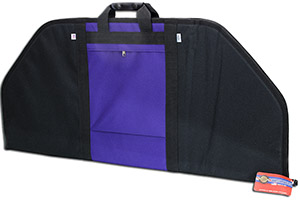 Neet BC-708 36 inch padded soft archery case with purple accents