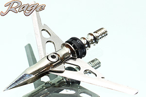 Rage Hypodermic 100 grain expandable broadheads