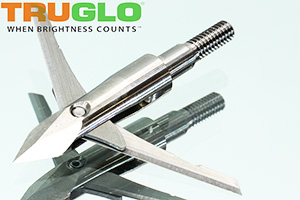 TruGlo Titanium X 100 grain mechanical broadheads