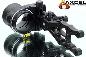 Axcel Armortech HS Compound Bow Sight with Sunshade