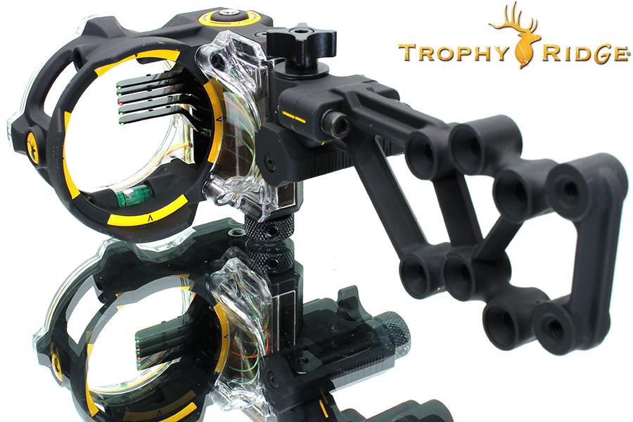 trophy ridge react H5 compound bow sight photo 1