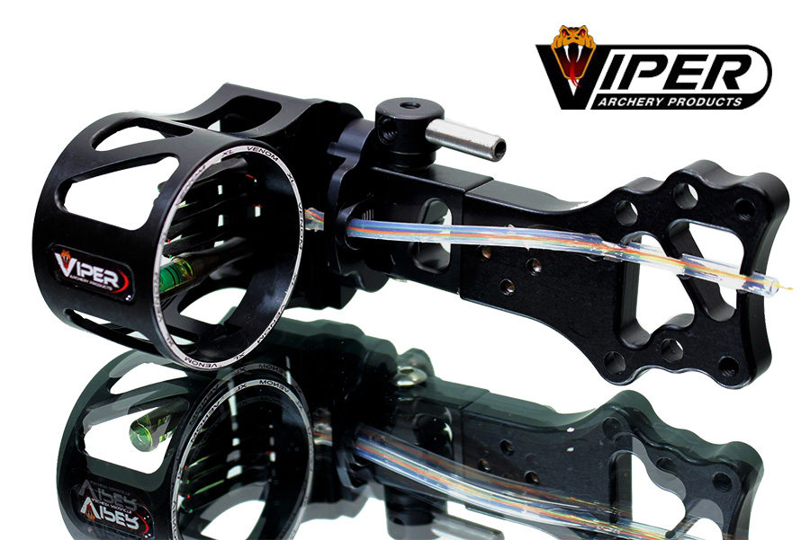 viper venom 1000 5-pin American made bow sight photo 1