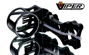 Viper Venom 500 4-Pin Compound Bow Sight, SUPER-STRONG MADE IN AMERICA!