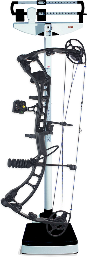 compound bow weight measurement perception highlight