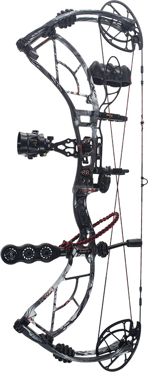 compound bow aggressive design highlight