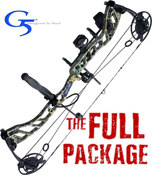 NEW! 335 FPS! 2020 Quest Centec, THE BIG PACKAGE, Full Pro-Shop Prepped Bowhunting Package Deal