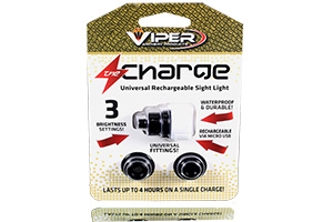 the charge rechargeable sight light