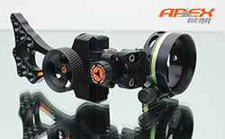 Apex Covert 1-Pin Sliding Adjustable Sight
