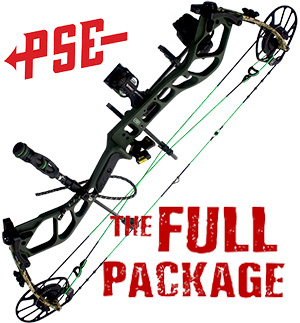 NEW 2021! PSE NOCK ON EMBARK, in GREEN  Full Pro-Shop Prepped Bowhunting Package Deal - CALL FOR DETAILS!!