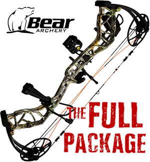 NEW! 2021 Bear Legit, THE BIG PACKAGE, Full Pro-Shop Prepped Bowhunting Package Deal