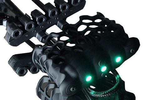 one of the coolest quivers we have seen - check it out - Trophy Ridge Hex with lights