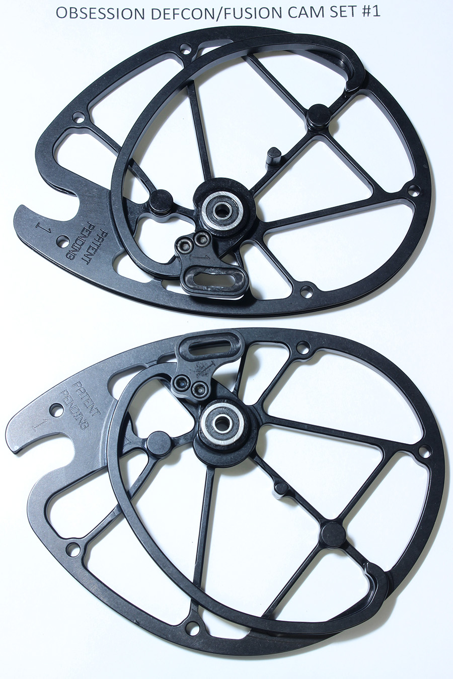 OEM Obsession Archery Defcon/Fusion 2-PC Cam Set, Size #1 (Top & Bottom) photo 2