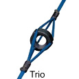 trio style peep sight with a compound bow package