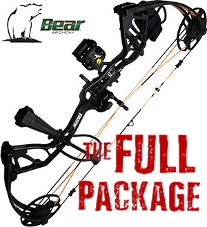 NEW! 2021 Bear Royale, A REAL Bow For the Young Hunter in Your Life, THE BIG PACKAGE, Full Pro-Shop Prepped Bowhunting Package Deal