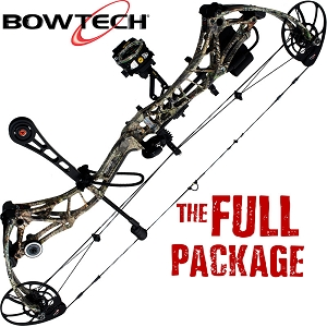 345 FPS! Bowtech Realm-X, THE BIG PACKAGE, Full Pro-Shop Prepped Bowhunting Package Deal
