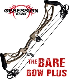 NEW! 2019 Obsession FX30, DESERT TAN FINISH, Build Your Own Bowhunting Package with help from the Pro-Shop
