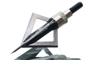 Carbon Express Quad Pro Lung Buster 100 Grain Broadheads 3-Pack, Extremely Sharp!