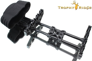 Trophy Ridge 5-Spot Compound Bow Quiver, Black Finish