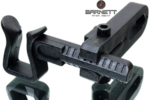 Barnett Shoot-Through Basix Arrow Rest, SIMPLE & EFFECTIVE. JUST BOLT-ON AND SHOOT!