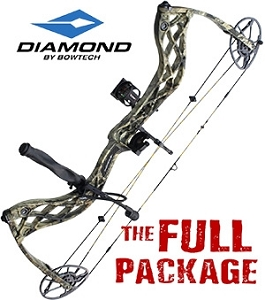 330 FPS! Diamond Deploy SB, THE BIG PACKAGE, Full Pro-Shop Prepped & Tested Hunting Rig