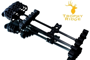 Trophy Ridge, Hex Light, 5 Arrow Quiver in Black